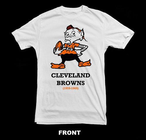 Cleveland Browns Vintage Logo T-Shirt