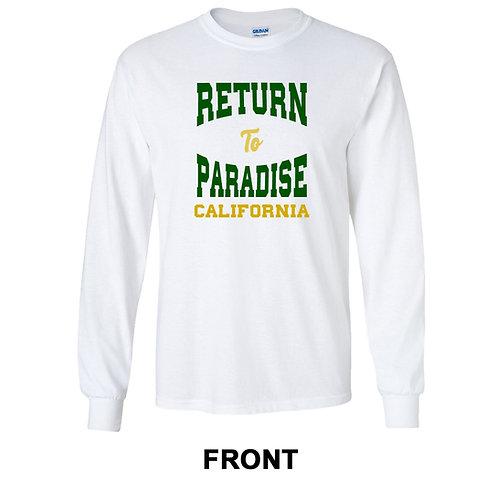 Return To Paradise California Long Sleeve T-Shirt