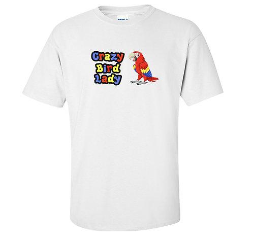 Crazy Bird Lady T Shirt | Parrot Bird Lover
