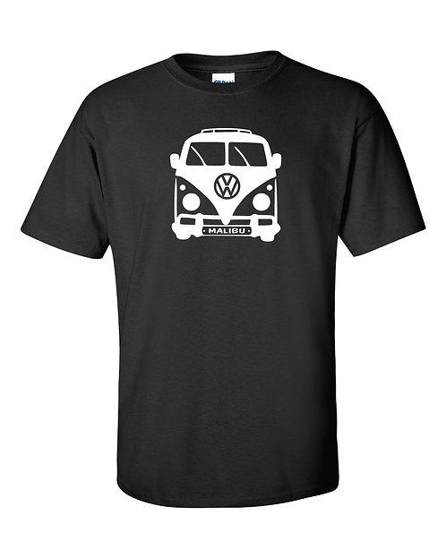 Volkswagen Vintage Bus T Shirt | Malibu California