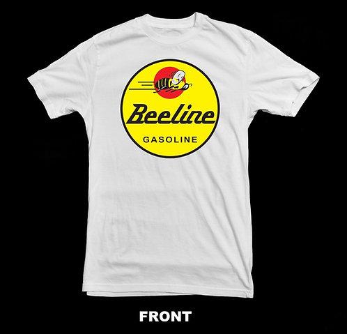 Vintage Beeline Logo White T Shirt