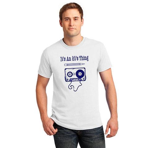 1980s Cassette Tape T Shirt | Retro T Shirts