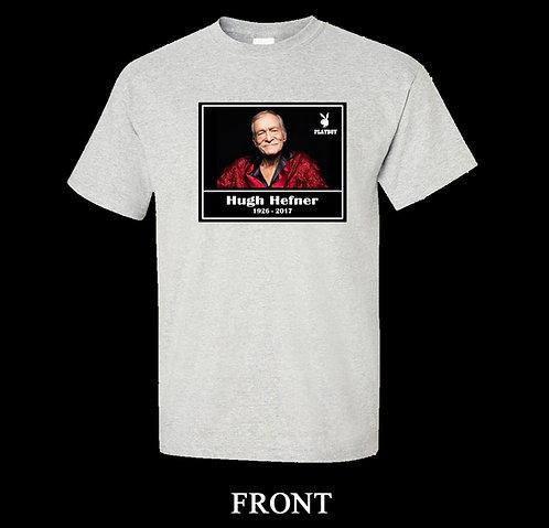 Hugh Hefner Memorial T-Shirt (Playboy Magazine)