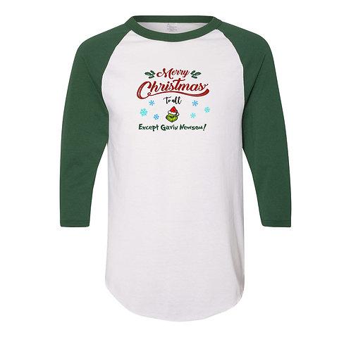 Merry Christmas To All Except Gavin Newsom Long Sleeve T-Shirt