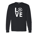 Bicycle Love Black Gildan Long Sleeve.pn