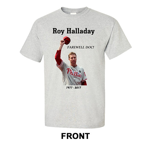 Roy Halladay T-Shirt | Doc Halladay | Memorial Tribute
