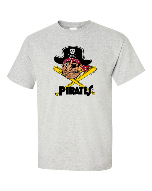 best sneakers 34392 2f6c3 Pittsburgh Pirates T Shirt | Vintage Logo | Retro Style Shirt
