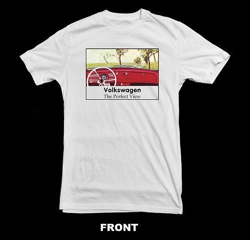 Volkswagen Vintage Beetle T Shirt | The Perfect View