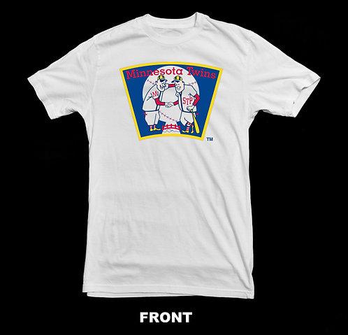Minnesota Twins Vintage Baseball Logo T Shirt