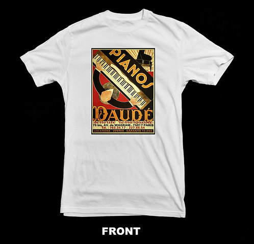 Daude Piano Vintage T Shirt