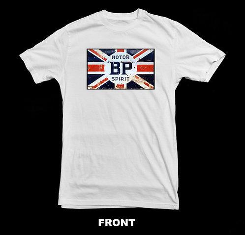 BP Motor Oil White T Shirt