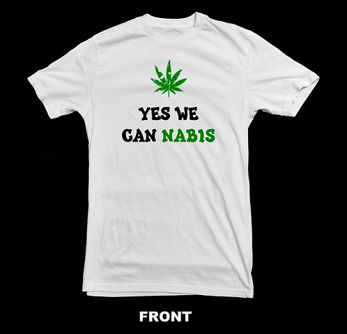 Marijuana T-Shirt | Yes We Cannabis