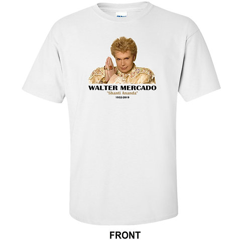 Walter Mercado Shanti Ananda Tribute T Shirt