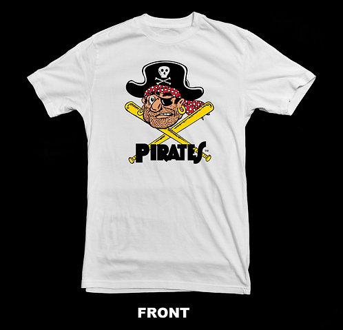 Pittsburgh Pirates Vintage Logo T Shirt | Vintage Baseball Shirts