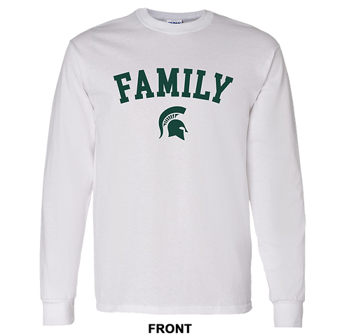 Michigan State Spartans T Shirt | Family | March Madness