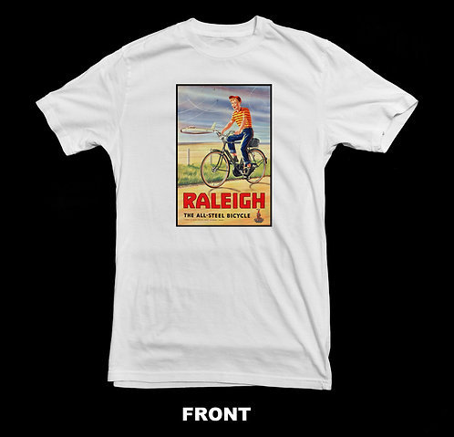 Raleigh Bicycle Vintage T-Shirt | Vintage Bicycle T Shirt #1