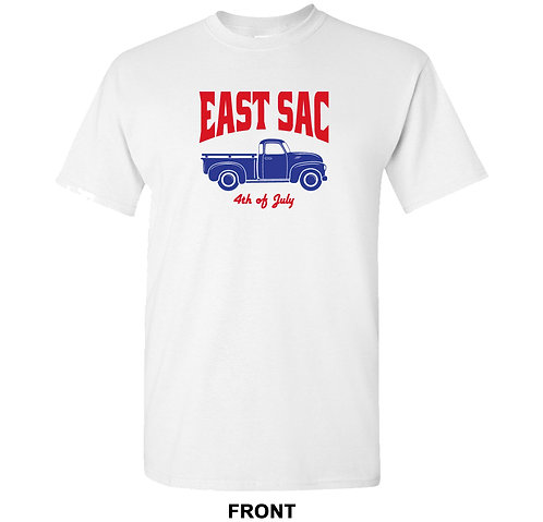 East Sac 4th of July T Shirt