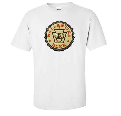 Ballantine Vintage Beer Bottle Cap T Shirt | Vintage Beer T Shirts