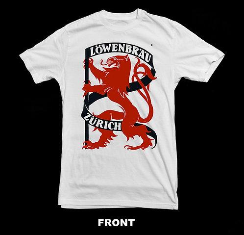 Lowenbrau Beer Vintage Logo T Shirt | Retro Beer T Shirts