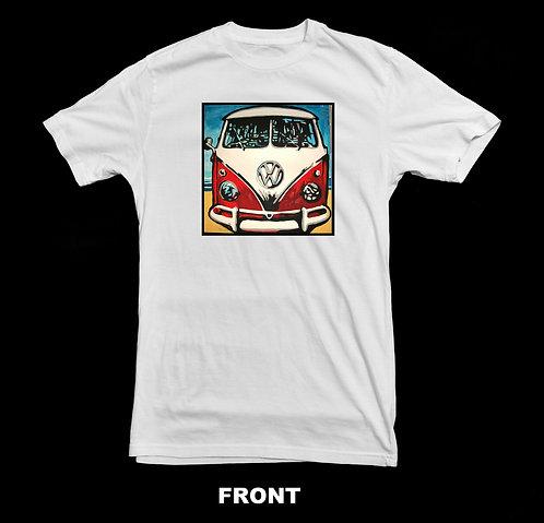 Volkswagen Vintage VW Micro Bus Art T-Shirt