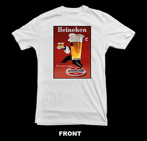 Heineken Vintage Beer Advertisement T Shirt