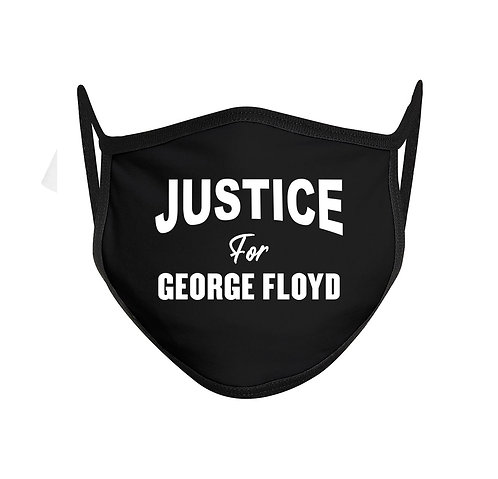 Justice For George Floyd Face Mask Mouth Cover