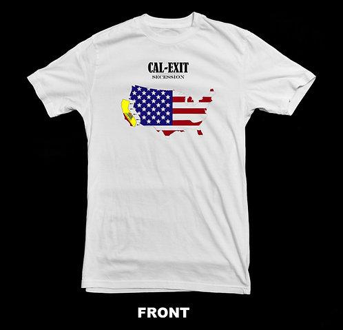 CAL EXIT California Secession T-Shirt