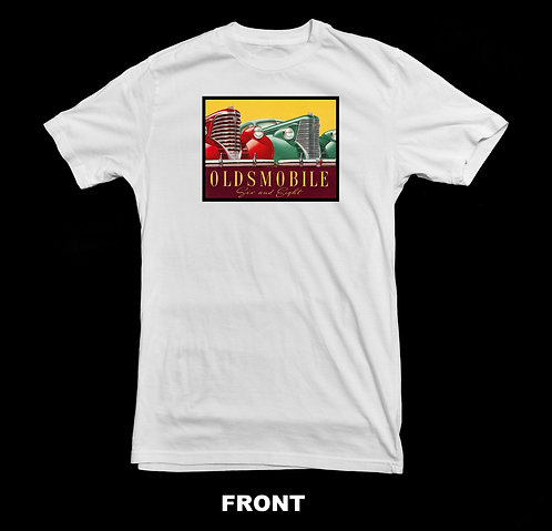 Oldsmobile Vintage Six and Eight Advertisement T-Shirt