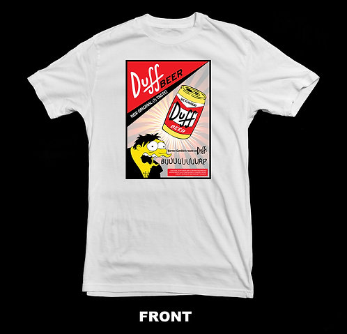 Duff Beer The Simpsons Barney Gumble T-Shirt