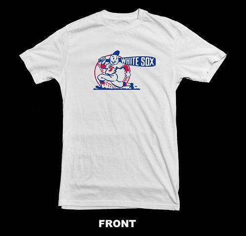 Chicago White Sox Vintage Logo T Shirt | Vintage Baseball Shirts