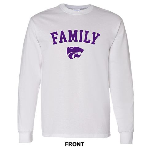 Kansas State Wildcats Long Sleeve T Shirt | Family | March Madness