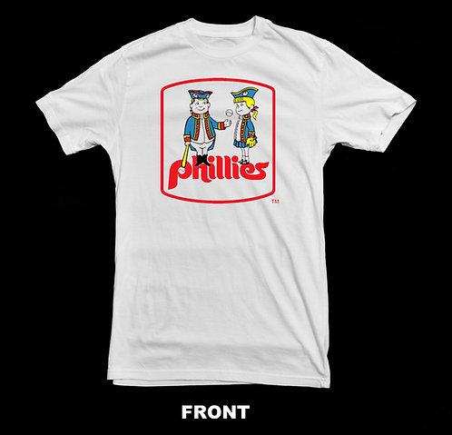 Philadelphia Phillies Vintage Retro Baseball Logo T Shirt