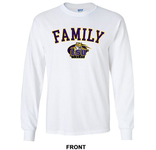 LSU Tigers Long Sleeve T Shirt | Family | March Madness