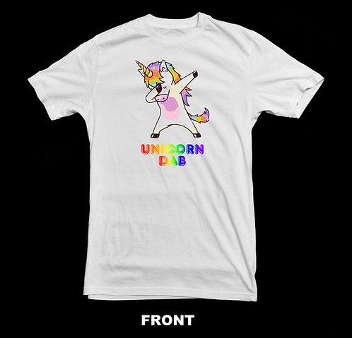 Unicorn Dab T-Shirt | Rainbow Unicorn T Shirt