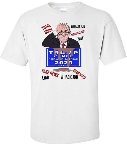 Rudy Giuliani Press Conference Train Wreck T-Shirt