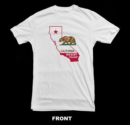 California Resist President Trump T Shirt