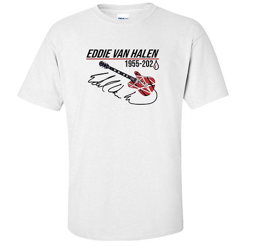 Eddie Van Halen Guitar Tribute T-Shirt
