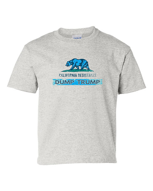 California Resistance Dump Trump-T-Shirt