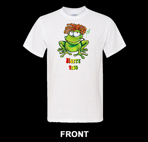 Marijuana T Shirt | Happy Frog | Marijuana 4:20