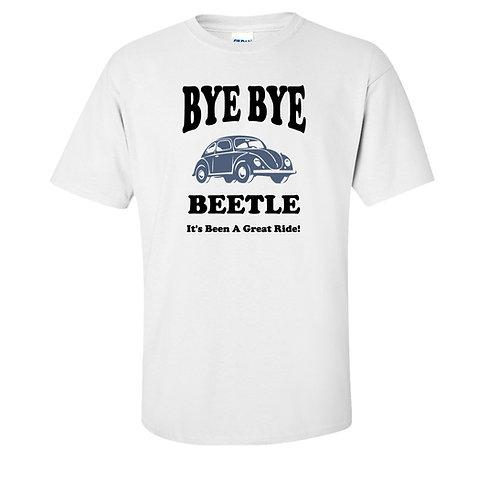 VW Bug T-Shirt | Bye Bye Volkswagen Beetle