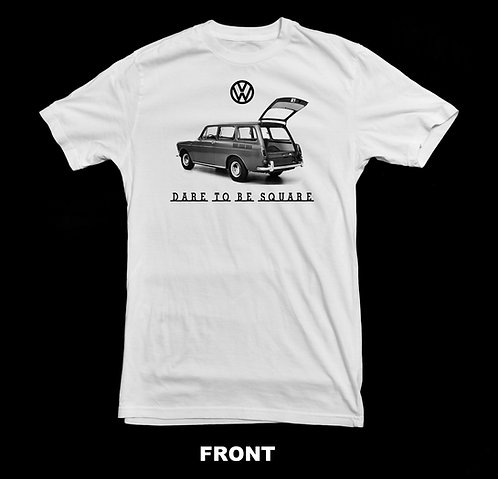 Volkswagen Vintage Squareback T-Shirt | Dare To Be Square