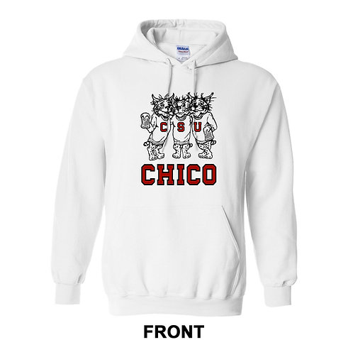 Chico State Vintage Drinking Wildcats Sweatshirt Hoodie