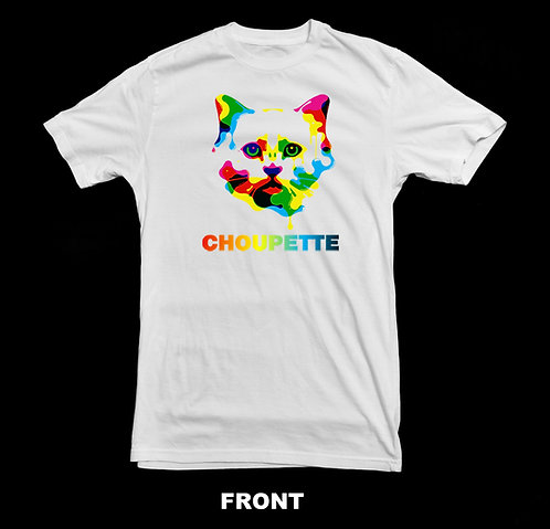 Karl Lagerfeld Choupette Cat T Shirt | Fashion Icon | Tribute T Shirt