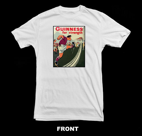 Guinness Beer Vintage Advertisement T Shirt | Guinness For Strength
