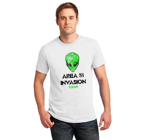 Area 51 Invasion T Shirt   Storm Area 51 T Shirt