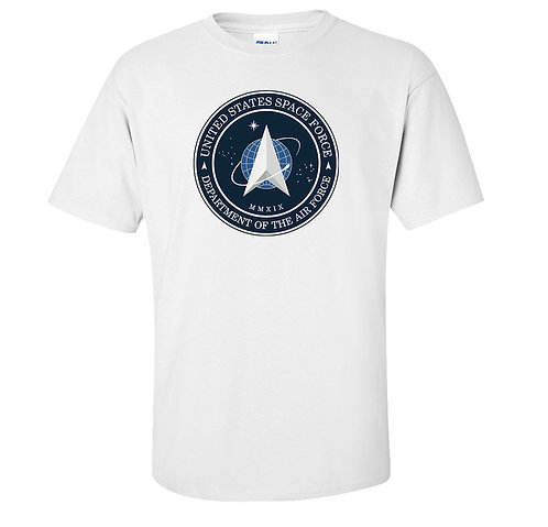 Space Force Logo T-Shirt President Trump