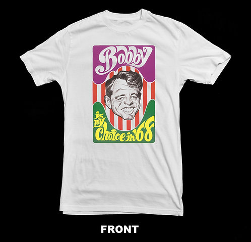 BOBBY KENNEDY FOR PRESIDENT '68 T-SHIRT