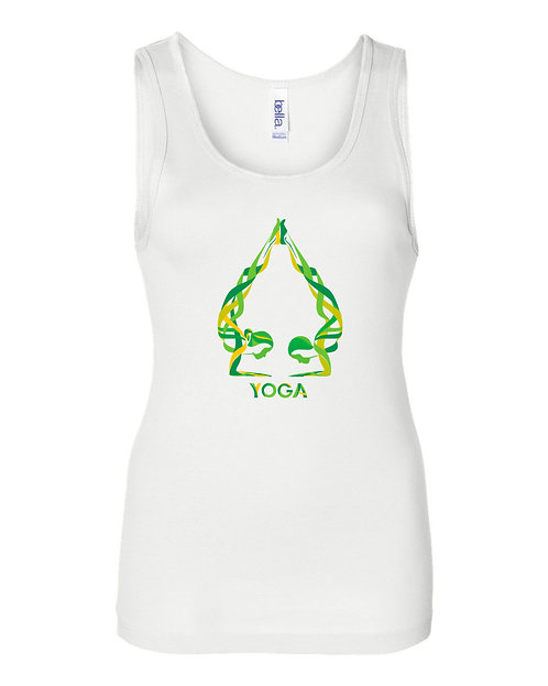 Artistic Twisted Yoga Tank Top (T-Shirt)