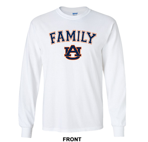 University of Auburn Tigers Long Sleeve T Shirt | Family | March Madness