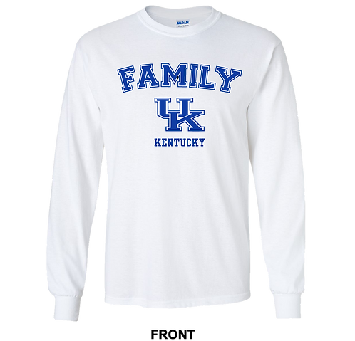 University of Kentucky Wildcats Long Sleeve T Shirt | Family | March Madness